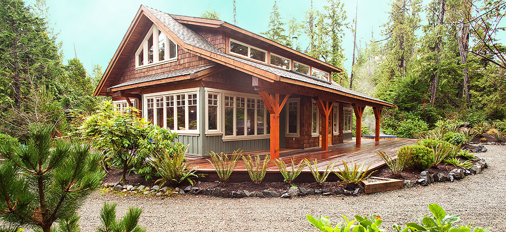 About The Tofino Dream Cottage A Luxurious Tofino